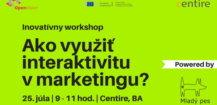 Letný inovatívny workshop o interaktívnom marketingu