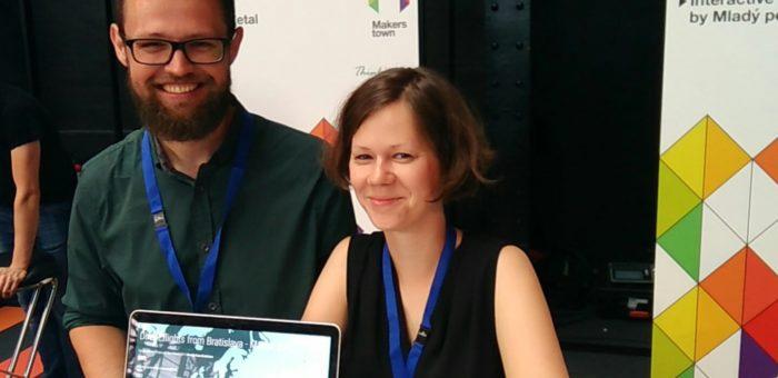 Slovenskí inovátori Mladý pes sa vďaka projektu OpenMaker zúčastnili podujatia MakersTown