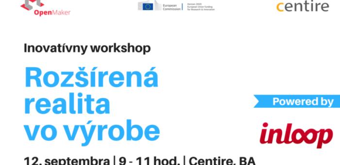 Workshop: Ako využiť rozšírenú realitu a mobilné aplikácie vo výrobe?