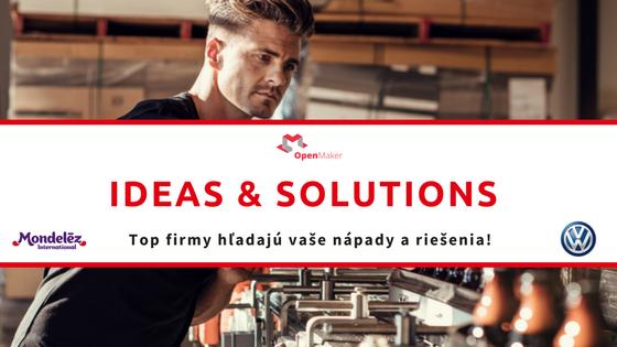 Inovatívne nápady z celej Európy pre TOP firmy na Slovensku